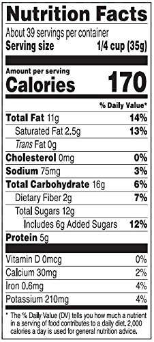 Amazon Brand - Happy Belly Amazon Brand Nuts, Chocolate & Dried Fruit Trail Mix, 48 ounce by Happy Belly (Image #3)