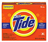 Procter & Gamble 608-27782 Tide Ultra Powder, 15 Loads, Original Scent, 20 fl. oz. (Pack of 15)