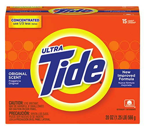 Procter & Gamble 608-27782 Tide Ultra Powder, 15 Loads, Original Scent, 20 fl. oz. (Pack of 15) by Procter & Gamble
