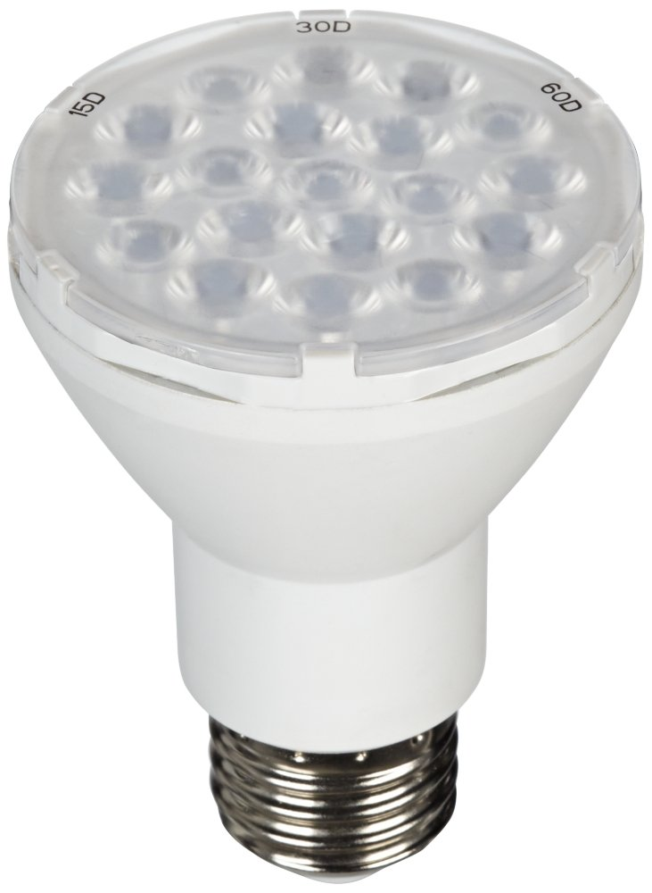 White Accent Can Spot Light 6 1/2'' High with CFL Bulb