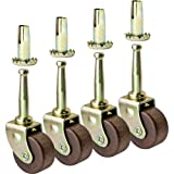 antique caster wheels - Hardwood Casters, Pack of 4