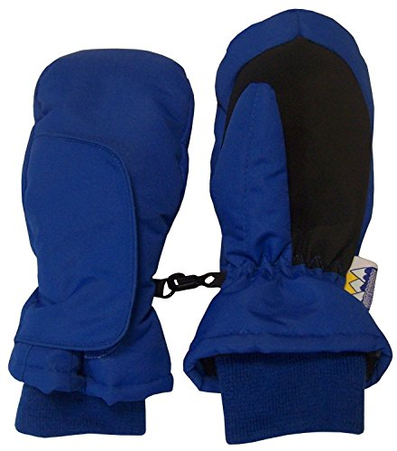 - N'Ice Caps Kids Easy On Thinsulate Waterproof Wrap Mitten (2-3 Years, Royal)