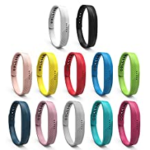 Fitbit Flex 2 Band, ULT-unite Newest Silicon Replacement Band for 2016 Fitbit Flex 2 Sports Classic Fitness Replacement Accessories Wrist Band
