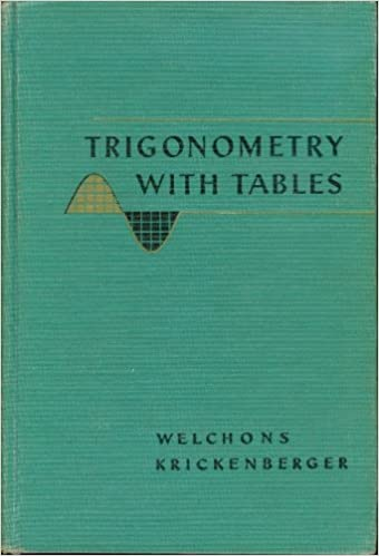 Trigonometry with Tables