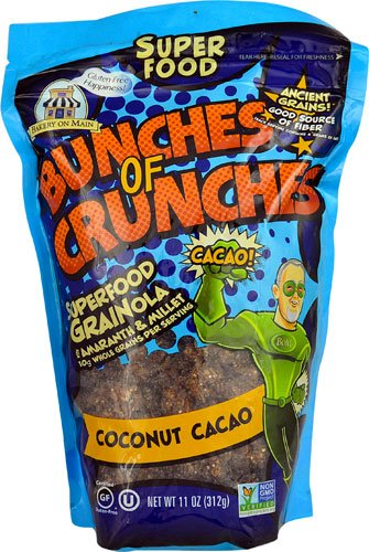 Bakery On Main Bunches of Crunches Gluten Free Superfood Grainola Coconut Cacao -- 11 oz - 2 pc