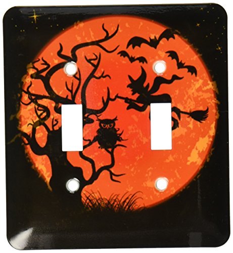 3dRose lsp_116520_2 Spooky Tree Under A Full Moon