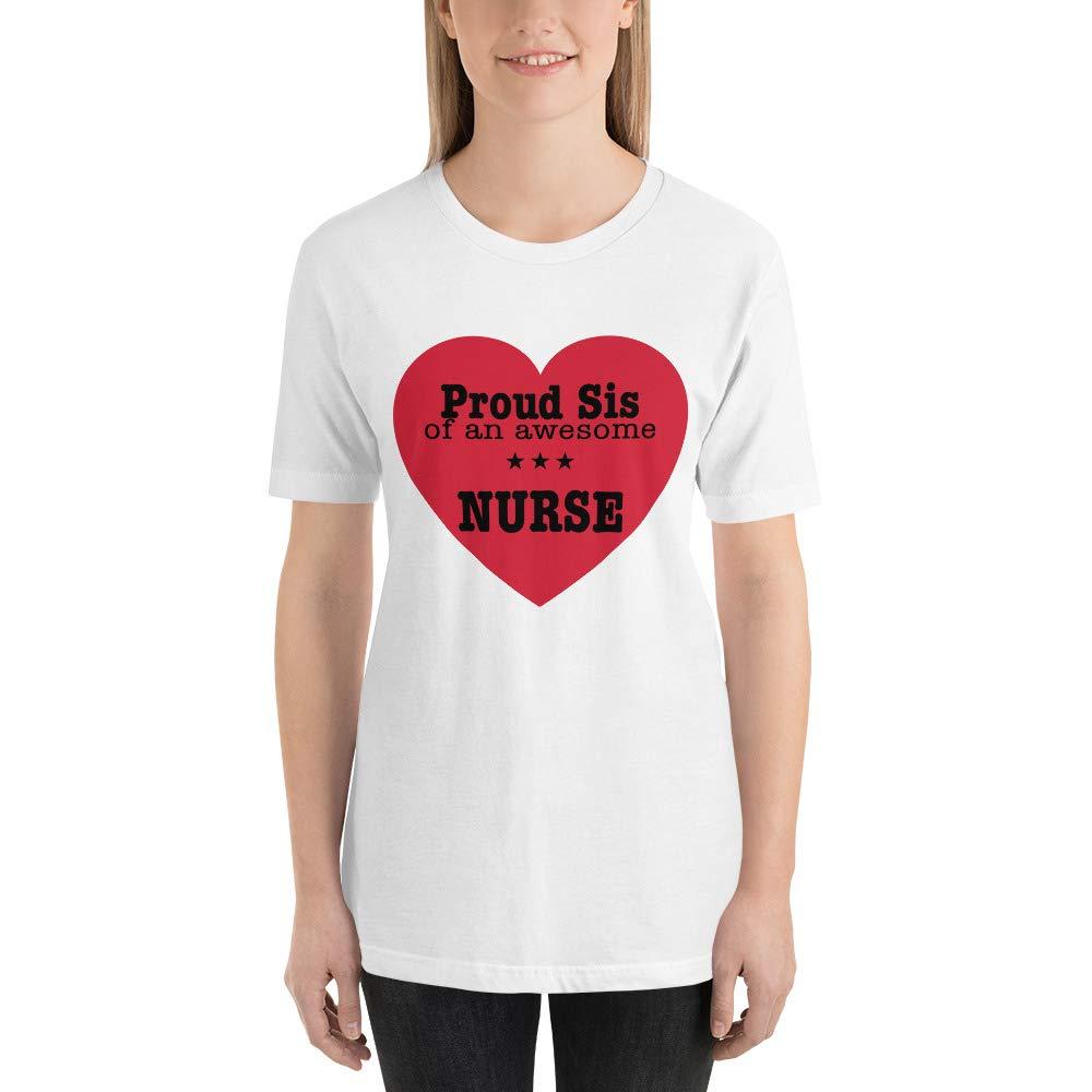 Proud Sister of an Awesome Nurse National Nurses Day Sister Nurse Doctor Short-Sleeve T-Shirt