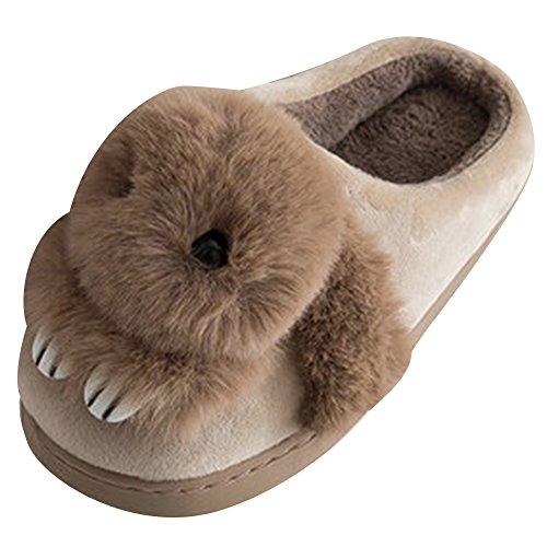 ragazze invernali per bambini bambini Pantofole in da antiscivolo e peluche Pantofole bagno per calde Pantofole xaqpg0wXE