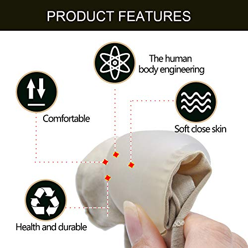 Povihome Gel Arch Foot Support Cushion for Plantar Fasciitis & Flat Feet, Silicone Foot Support for Relief Foot Pain - 2Pair by Povihome (Image #3)
