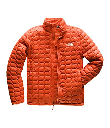 The North Face Men's Thermoball Jacket, Zion Orange Matte, Size L (Best Patagonia Jacket For Snowboarding)