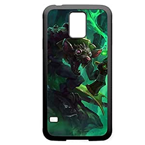 Twitch-001 League of Legends LoL For Case Iphone 4/4S Cover - Hard Black