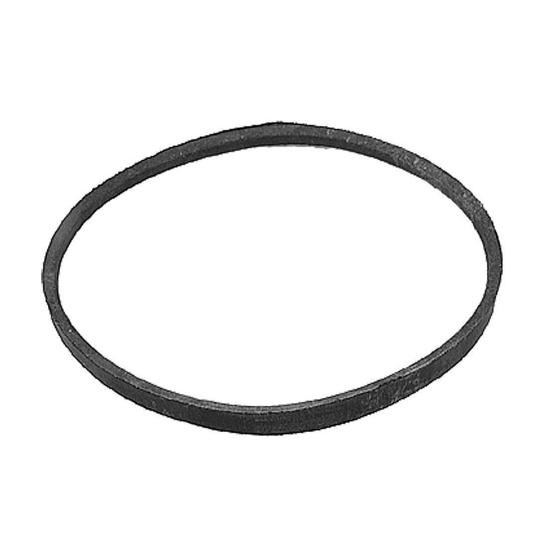 sourcingmap® Machine Transmission Pulley Black Rubber M Type Drive V Belt M25 a11110100ux0138