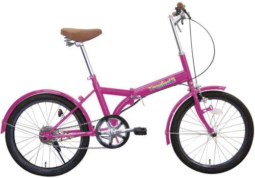 ミムゴ 20インチ折畳み自転車 トロピカルファイブ B0018P86D4パープル