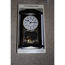 15 Regulator Pendulum Wall Clock