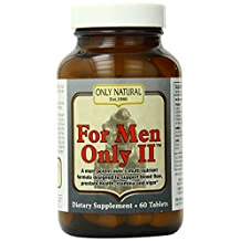 ONLY NATURAL FOR MEN ONLY II, 60 TAB
