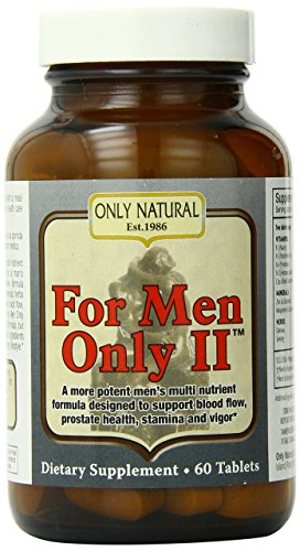 Only Natural for Men Only Ii, - Ii Only Men For