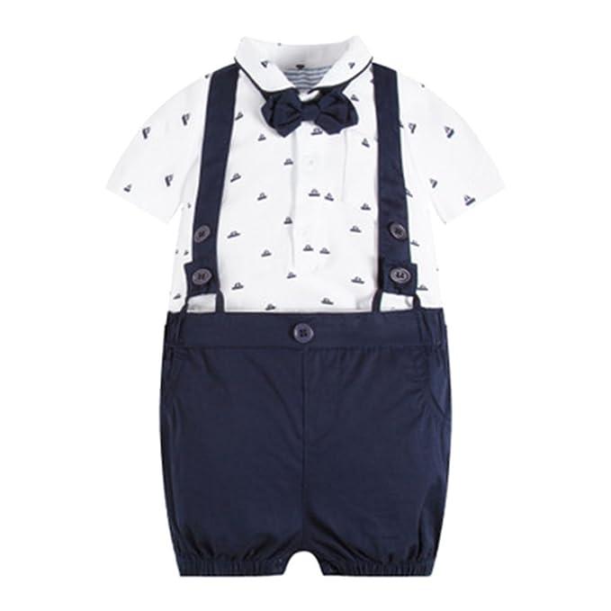 Bebé Niño Ropa Camiseta de Manga Corta + Pantalones Cortos ...