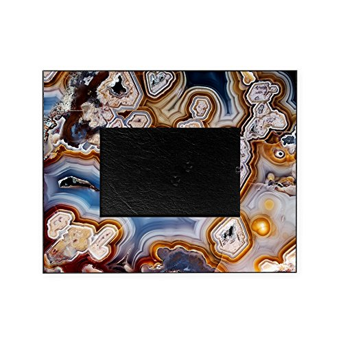 CafePress - Slice Of Honeycomb Agate - - Decorative 8x10 Picture Frame