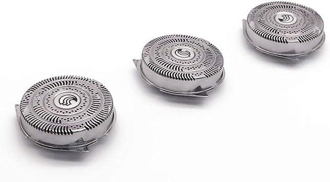 EdBerk74 3 piezas Afeitadora Maquinillas de afeitar Reemplazo Cabezales para Philips HQ9070 HQ9080 HQ8240 / 8260 PT920 Rotary Shaver Accesorios: Amazon.es: Salud y cuidado personal