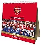 Arsenal FC 2020 Desk Easel Calendar - Official Desk Easel Format Calendar