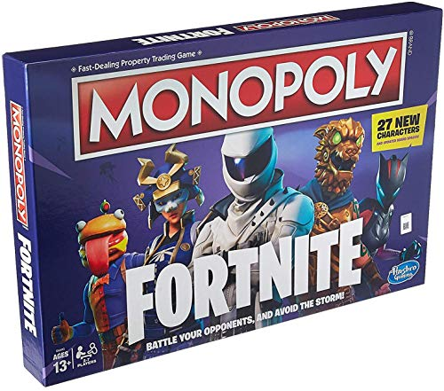 Monopoly: Fortnite Edition Board Game Inspired by Fortnite Video Game Ages 13 & Up (Board Game Monopoly)