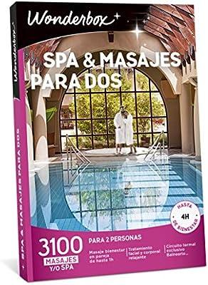 WONDERBOX Caja Regalo para Dos - SPA & MASAJES para Dos - 3.100 experiencias para Dos Personas: Amazon.es: Hogar