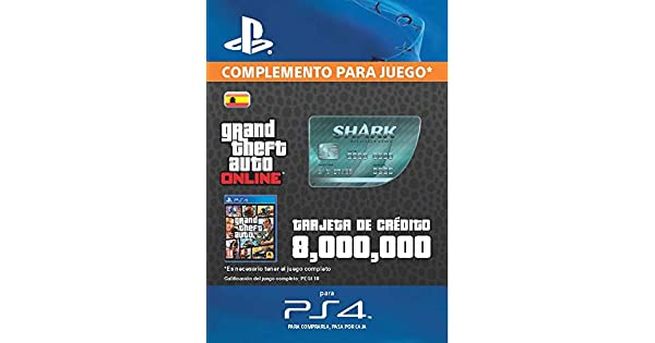 Grand Theft Auto Online - GTA V Cash Card | 8,000,000 GTA ...