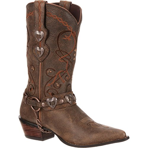 Concho Western Boots - Durango Crush Ladies Heartbreaker Boots 11