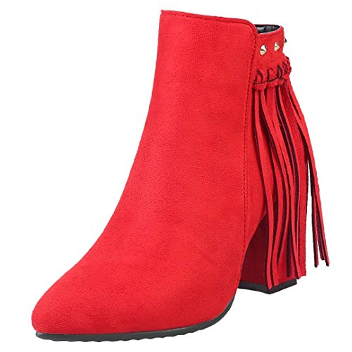 Women's AIYOUMEI Boot Classic Red Classic Red AIYOUMEI Women's Boot OqPSHSB