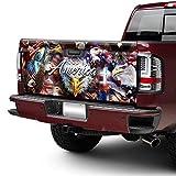FLAGWIX Truck Decals-God Bless America Eagle Truck