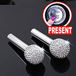 Bling Car Door Lock Pull Rod Cover