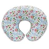 Boppy Pillow Slipcover, Blue Classic Fresh Flowers
