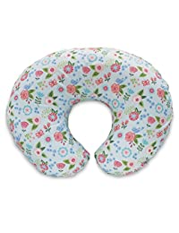 Boppy Pillow Slipcover, Blue Classic Fresh Flowers BOBEBE Online Baby Store From New York to Miami and Los Angeles