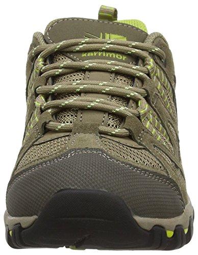Karrimor Supa 4 - Zapatos de Low Rise Senderismo Mujer Marrón (Brn)