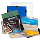 DIY Complete T-Shirt Screen Printing Starter Kit with Speedball Opaque Fabric Inks