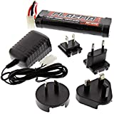 HPI 1/10 Jumpshot MT * 7.2V 2000mAh 6 CELL NiMH BATTERY & CHARGER * Multi Region