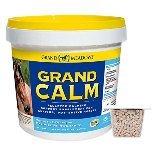51gKu Q7cFL - Grand Meadows Grand Calm Pellets - 5 Lb