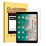iPad Pro 10.5 Screen Protector - SPARIN 9H Premium Tempered Glass / Apple Pencil Compatible / 2.5D Round Edge / Scratch Resistant Screen Protector for New iPad Pro 10.5 Inch ( 2017 )