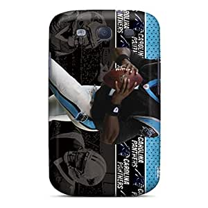 For Galaxy S3 Tpu Phone Case Cover(carolina Panthers)