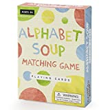 Imagination Generation Alphabet Soup Matching and Memory Card Game