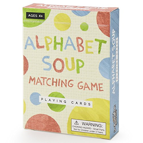 Alphabet Soup Matching and Memory Card Game by Imagination (Preschool Memories)