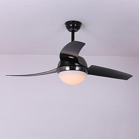 Abanico de luz LED de 132 cm para sala de estar, dormitorio ...