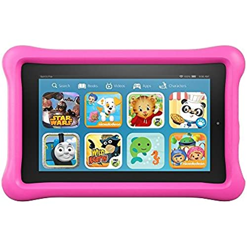 Fire Kids Edition Tablet, 7 Display, Wi-Fi, 16 GB, Pink Kid-Proof Case Coupons