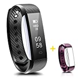 Fitness Tracker,IP67 Waterproof Smart Fitness Band Activity Health Tracker with Slim Touch Screen for Step Distance Calories track, Sleep monitor, pedometer,Bluetooth 4.0 for Android and iOS