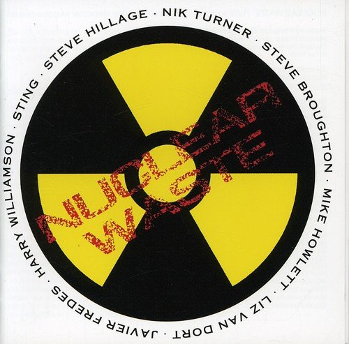 CD : Sting - Nuclear Waste (CD)
