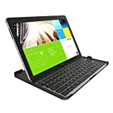 ZAGG Cover Fit Case with Bluetooth Keyboard for Samsung 12.2 Inch Galaxy Note Pro or Tab Pro-Black