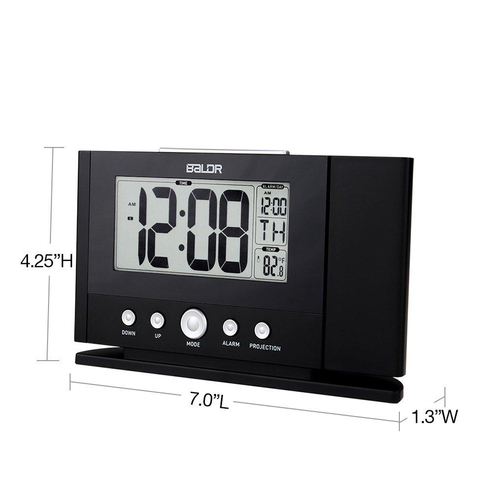 Amazoncom BALDR Digital Projection Alarm Clock Dimmable
