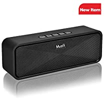 HolyHigh Muzili Wireless Bluetooth Speaker with 3.5 mm Aux TF Card Sl