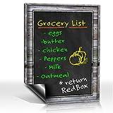 Smart Planner: Black Dry Erase Refrigerator Magnetic Chalkboard Design | Use ...