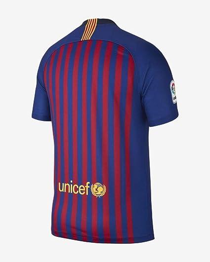 Nike Fútbol Club Barcelona, Temporada 2018/2019 T-Shirt, Hombre: Amazon.es: Deportes y aire libre